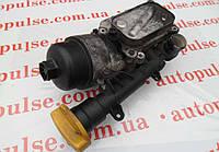 Корпус масляного фильтра с холодильником для Fiat Fiorino 1.3 JTD/Multijet. Фиат Fiorino 1.3 джейтд/мультидж.