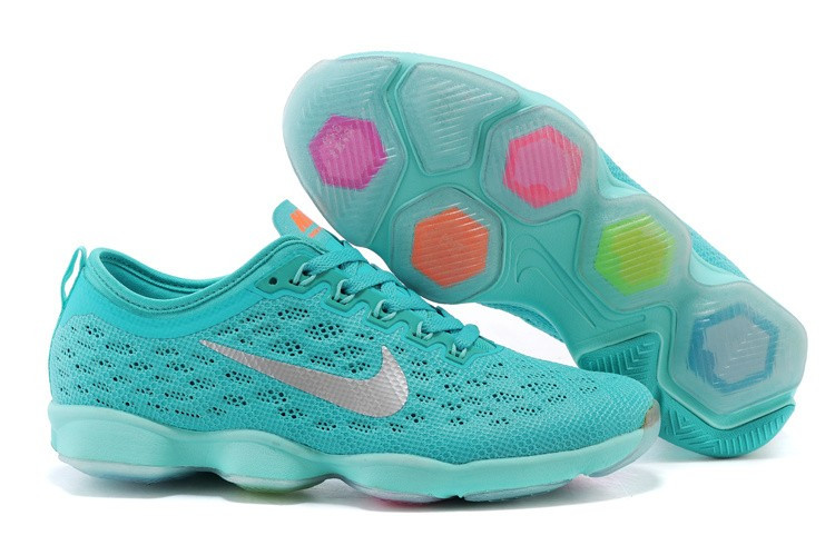 Кроссовки Nike Zoom Fit Agility Women's Hyper Jade/Cool Grey в бирюзовом цвете