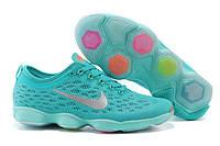 Кроссовки Nike Zoom Fit Agility Women's Hyper Jade/Cool Grey в бирюзовом цвете, фото 1