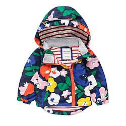 Куртка для девочки Цветы Meanbear (122/128)