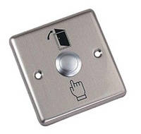 Металлическая кнопка выхода, врезная ART-801B (ABK-801B)