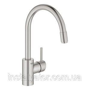 Смеситель для кухни с выдвижным изливом Grohe Concetto 32663DC3