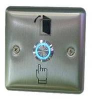 Металлическая кнопка выхода, врезная с подсветкой ART-804LED  (ABK-804LED)
