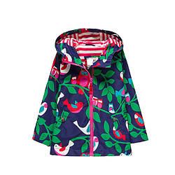 Куртка для девочки демисезонная Птицы Meanbear (90)