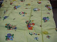 Одеяло из овечьей шерсти детское бязь