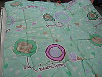 Одеяло из овечьей шерсти детское поликотон, фото 1