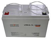 Logicpower LP-GL 12V 120AH silver, фото 1