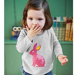 Лонгслив для девочки Кролик Jumping Meters (18-24 мес) 6 лет, 116, Животные