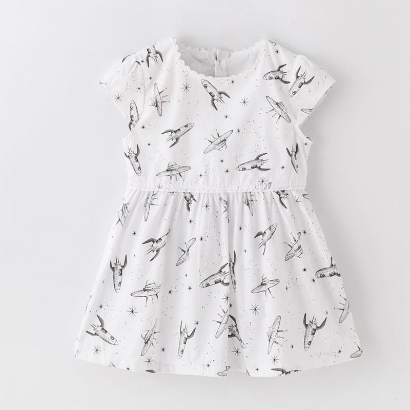 Платье для девочки Ракеты Jumping Beans (2 года)