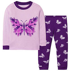 Пижама для девочки Бабочка Wibbly pigbaby (90)