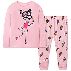 Пижама для девочки Мороженое Wibbly pigbaby (90)