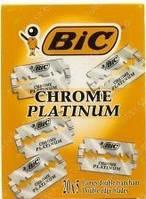 Классические лезвия BIC Chrome platinum, 100 лезвий в упаковке  GIL /00-88 N
