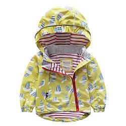 Детская куртка Чайки Meanbear (90) 9 лет, Мальчикам, 122