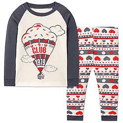 Пижама для девочки Воздушный шар Wibbly pigbaby (90)