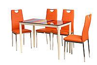Обеденный стол Т-300-11 полоска, фото 1