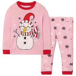 Пижама для девочки Снеговик Wibbly pigbaby (90)