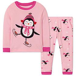 Пижама для девочки Пингвин Wibbly pigbaby (90)