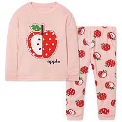 Пижама для девочки Яблоко Wibbly pigbaby (90)