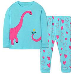 Пижама для девочки Динозавр Wibbly pigbaby (90)