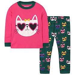 Пижама для девочки Кошечка Wibbly pigbaby (90)