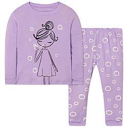 Пижама для девочки Мыльные пузыри Wibbly pigbaby (90)