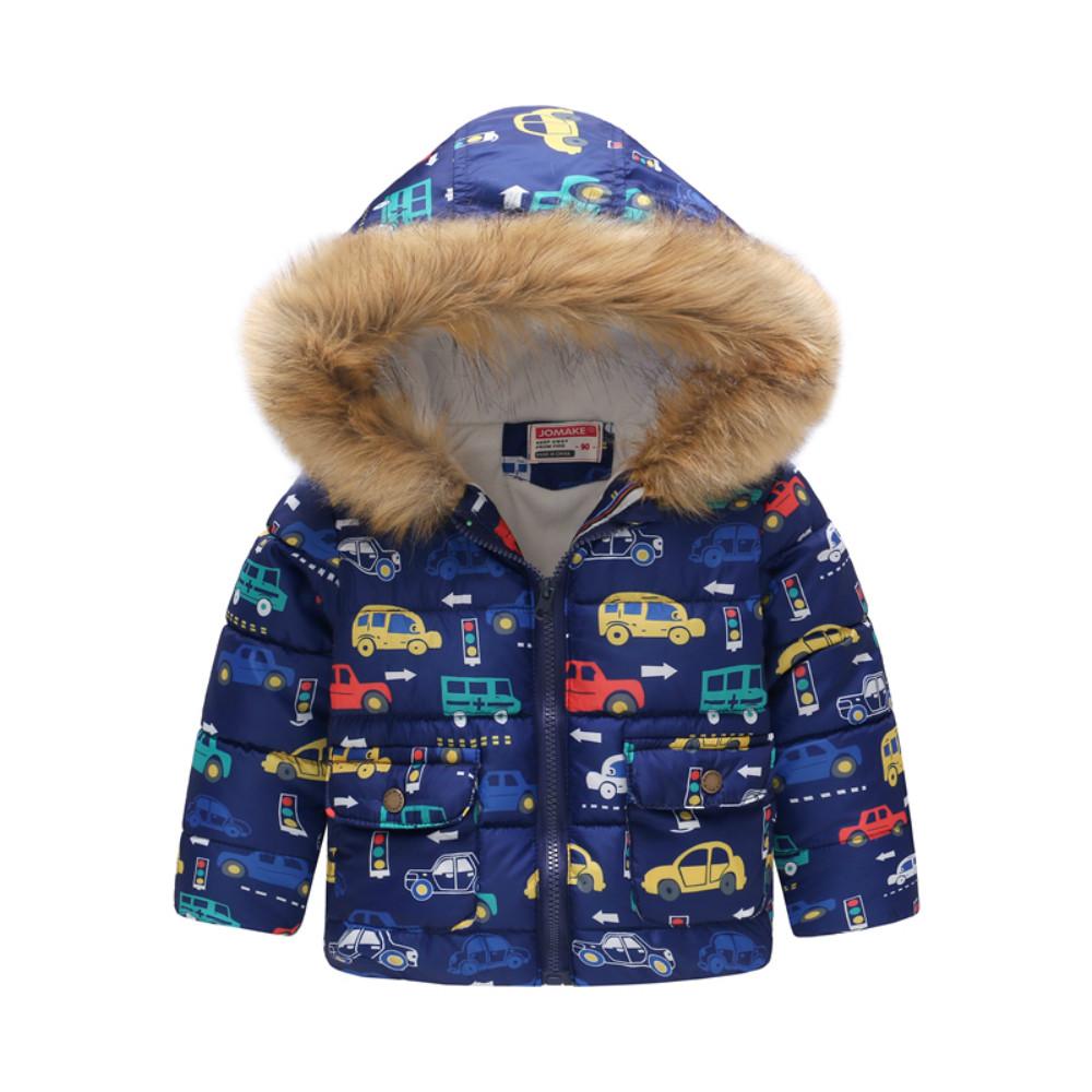 Демисезонная куртка для мальчика Светофор и транспорт Jomake (90)