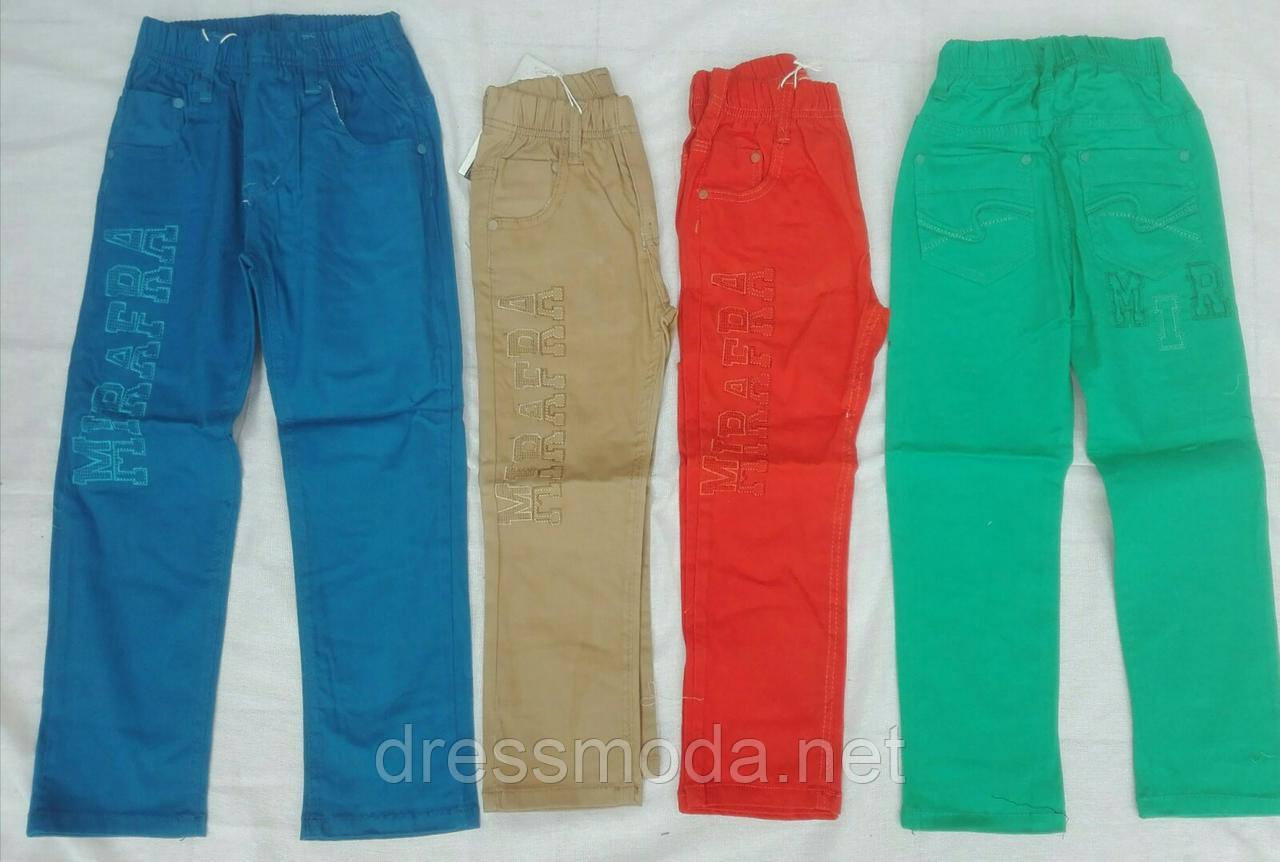 Котоновые брюки для мальчиков Mirafra 98-128р.р