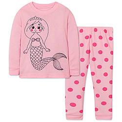 Пижама для девочки Русалочка Wibbly pigbaby (90)