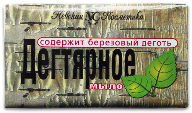 Дегтярное мыло туалетное Невская косметика 140 г. (10193)