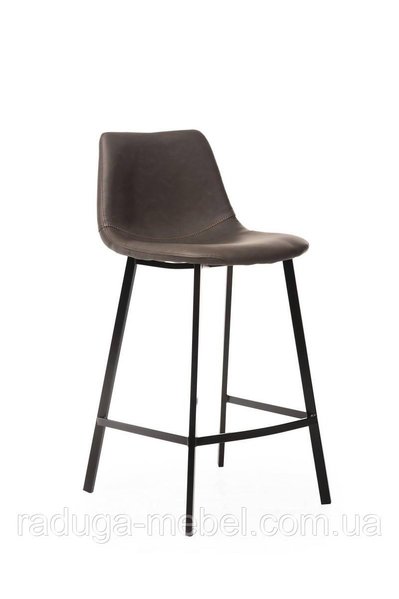Полубарный стул B-16 серый антик