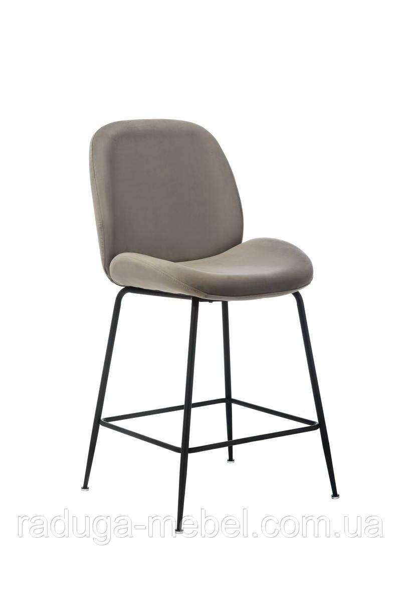 Полубарный стул B-132 пепельный