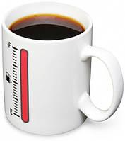 Чашка Заправься кружка с индикатором температуры