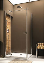 Двери распашные левосторонние для монтажа со стенкой Aquaform VERRA LINE 103-09383, 1200х1900 мм