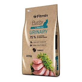 Fitmin cat Purity Urinary / комплексный корм для взрослых кошек с положительным эффектом на мочевую систему