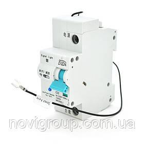 Автоматичний вимикач 1P/220V/32A з вітдаленним управлінням через WiFi