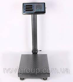 Ваги торговельні електронні TCS-100 (100кг), стійка, лічильником ціни