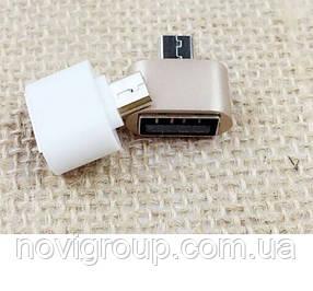 Перехідник USB 2.0 AF / Micro-B OTG. OEM