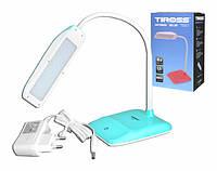 Лампа настольная светодиодная Tiross TS 57 сенсор зеленый