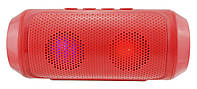 Портативная bluetooth MP3 колонка UKC Q610 Red