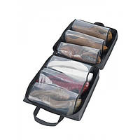 Органайзер для обуви Shoe Tote Bag Pro сумка для хранения обуви на 6 пар ЧЁРНАЯ, (Оригинал)
