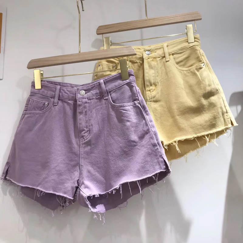 Шорты женские джинсовые 2020