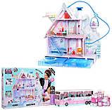 L.O.L. Surprise! Winter Disco Chalet Wooden Doll House (с семьей и камином!) / ЛОЛ Зимний особняк Зимнее Шале, фото 2