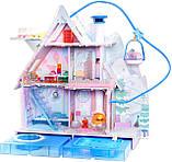 L.O.L. Surprise! Winter Disco Chalet Wooden Doll House (с семьей и камином!) / ЛОЛ Зимний особняк Зимнее Шале, фото 3