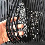 Черная футболка на девочку 33 .Размеры  152 см, 158 см, 164 см, фото 2