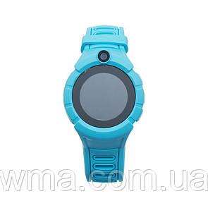 Умные часы (Smart Watch) Детские Смарт Часы Q360 GPS Цвет Синий