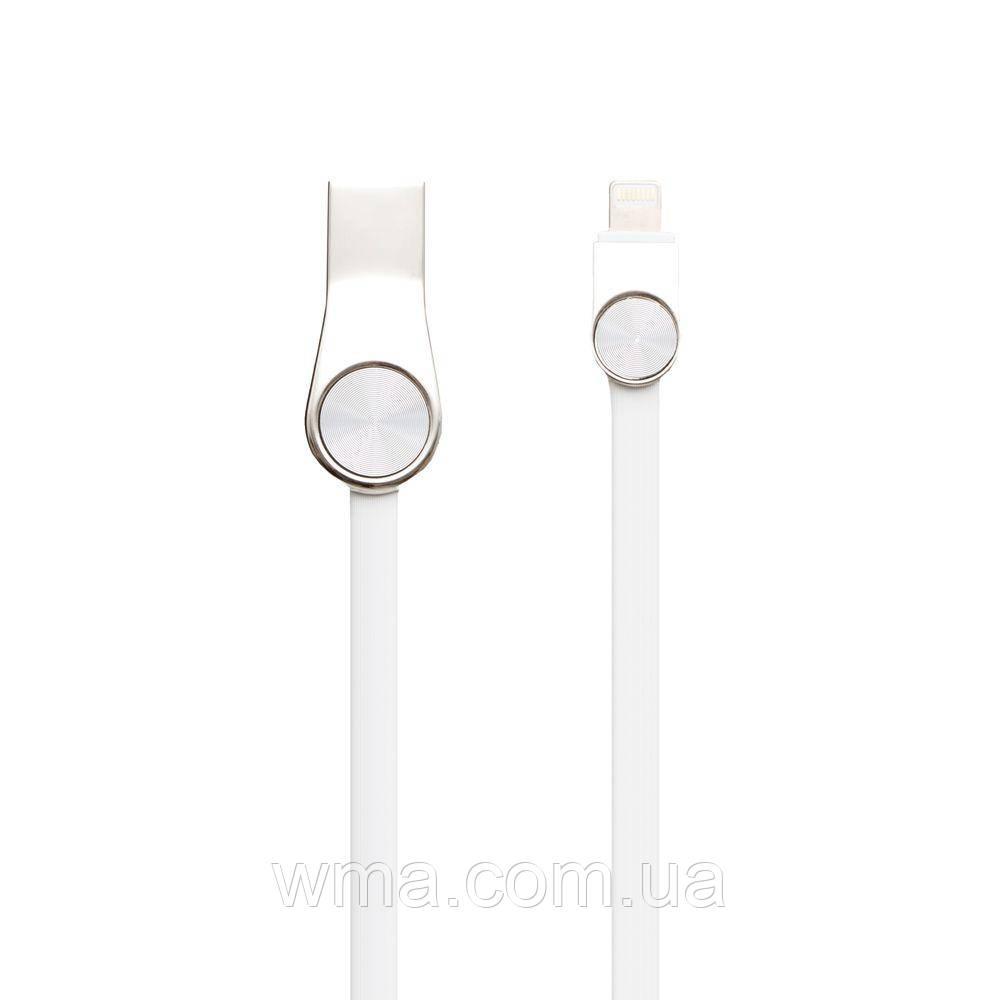 Кабель для зарядки USB (шнур для зарядки телефонов) XO NB45 Lightning Цвет Белый