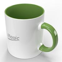 Чашки сублимационные 105х84 мм (425мл), серия (BEST)