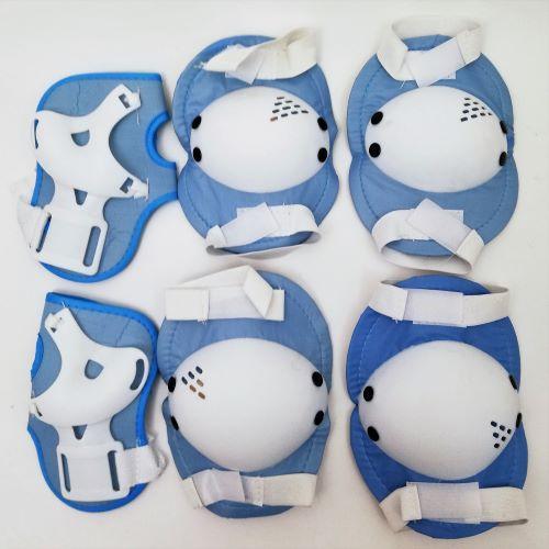 Захист на ролики, скейтборд MS 0032-1 блакитний
