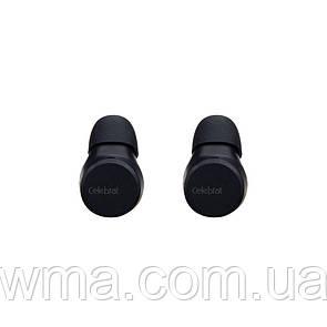 Наушники беспроводные Блютуз Стерео Гарнитура (TWS Bluetooth) Celebrat TWS-W1 Цвет Чёрный