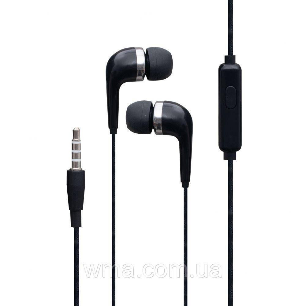 Проводные наушники для телефона Borofone BM39 Цвет Чёрный